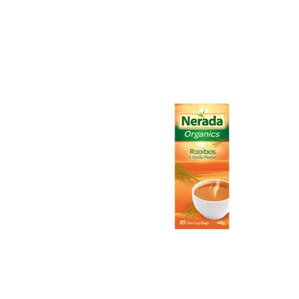 Nerada Organic Herbal Tea Rooibos & Vanilla tea bags 25pk