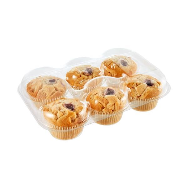 Countdown Instore Bakery Muffins Raspberry White Chocolate 6pk