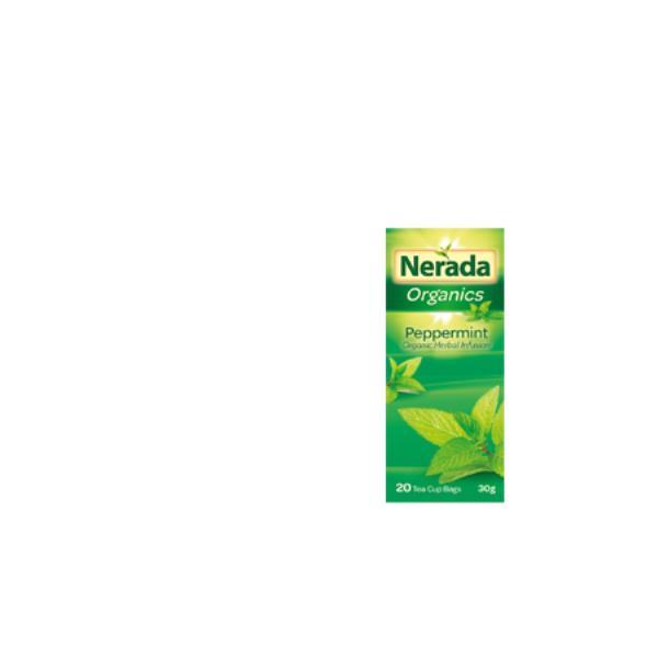 Nerada Organic Herbal Tea Bags Peppermint 20pk