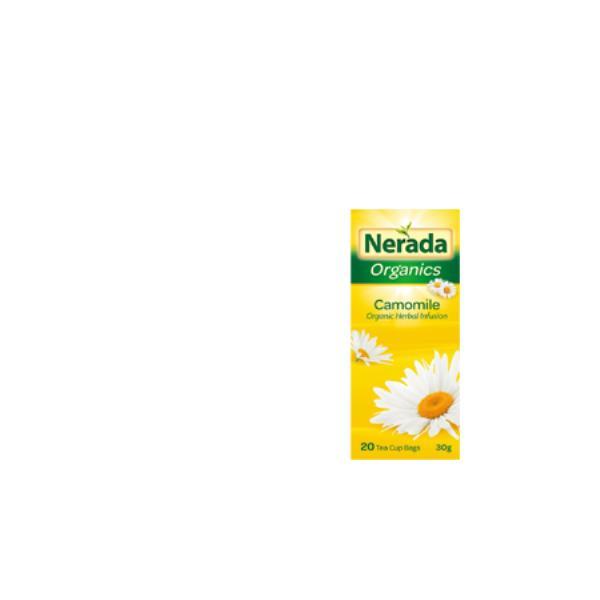 Nerada Organic Herbal Tea Bags Camomile 20pk