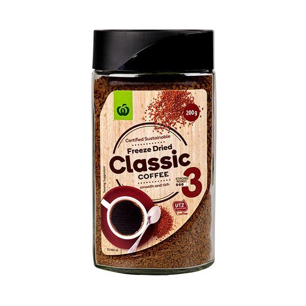 Countdown Instant Coffee Freeze Dried Original jar 200g