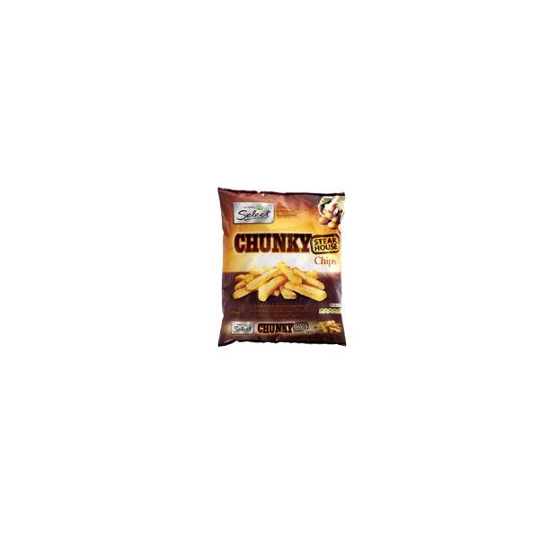 Select Fries Chunky Steakhouse Chips 1kg