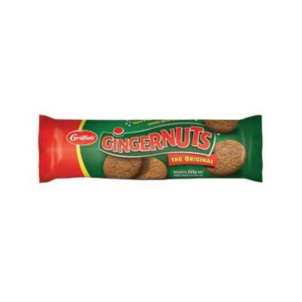 Griffins Gingernuts Ginger Biscuits Original 250g