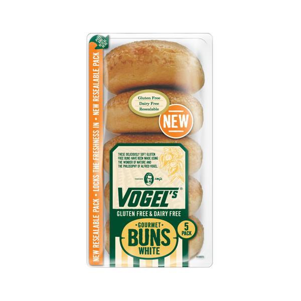 Vogel's Vogels Gluten Free Burger Buns White 5pk