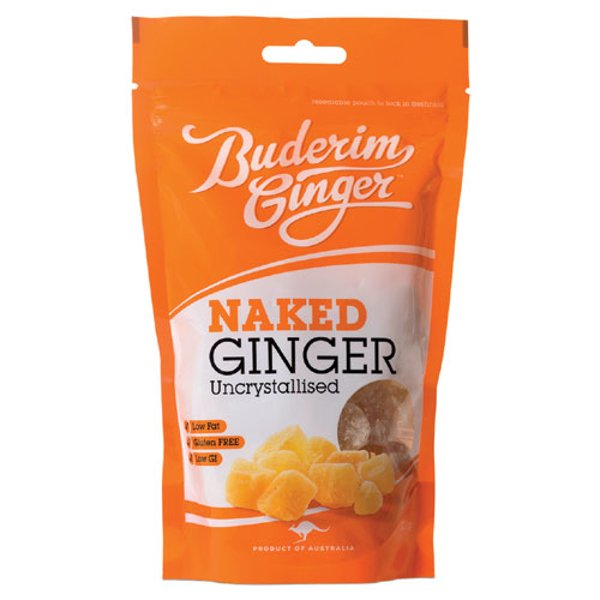 Buderim Ginger Naked Ginger 200g