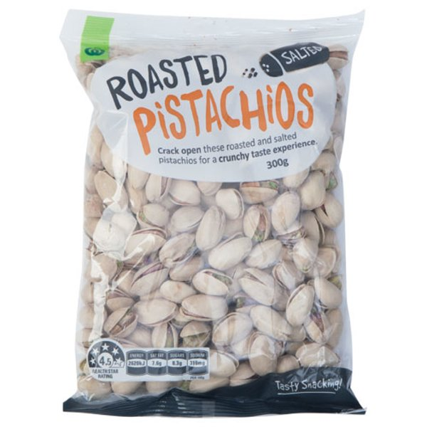 Countdown Pistachios Roasted Salted 300g