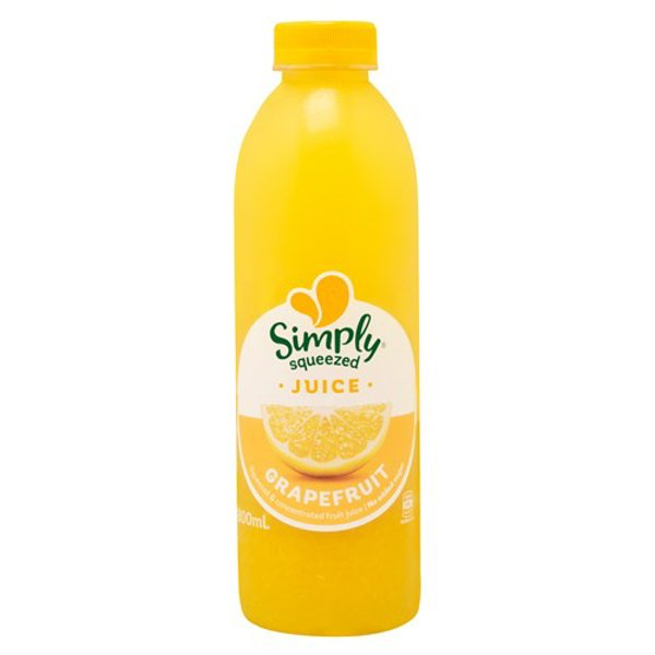 Simply Squeezed Chilled Juice Grapefruit chilled 800ml