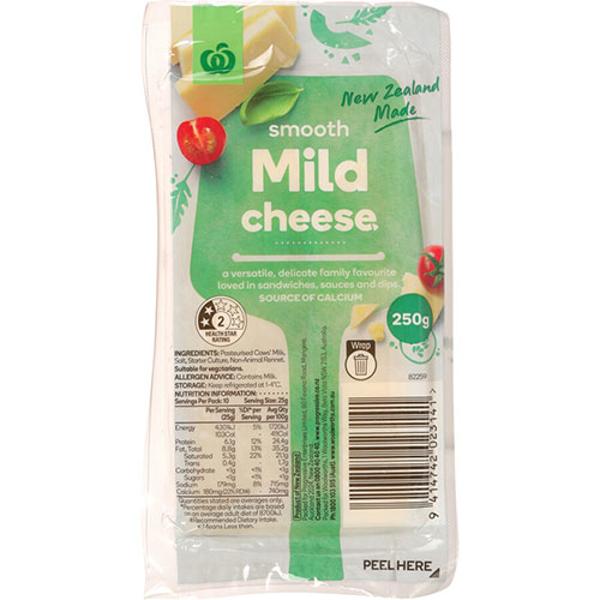 Countdown Cheese Block Mild 250g