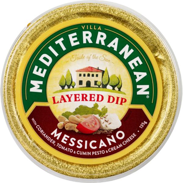 Mediterranean Messicanno Layered Dip 135g
