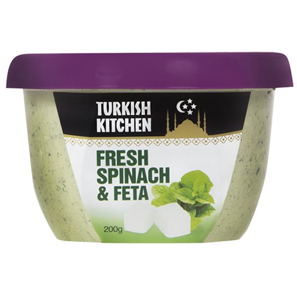 Turkish Kitchen Spinach & Feta Dip 200g