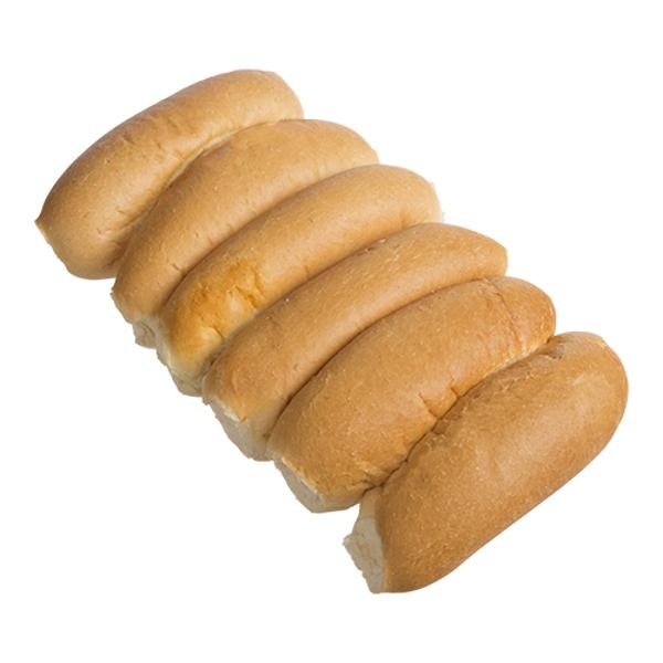 Bakery Plain Long Rolls 6ea
