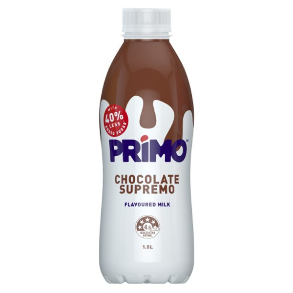 Primo Chocolate Supremo Flavoured Milk 1.5l