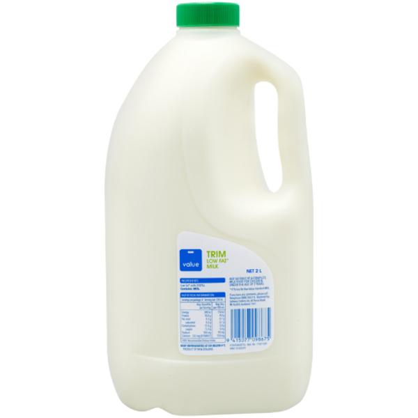 Value Trim Milk 2l