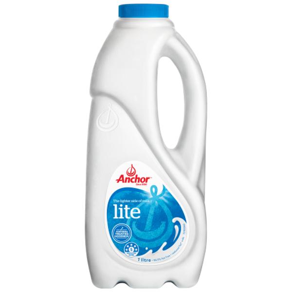 Anchor Lite Milk 1l