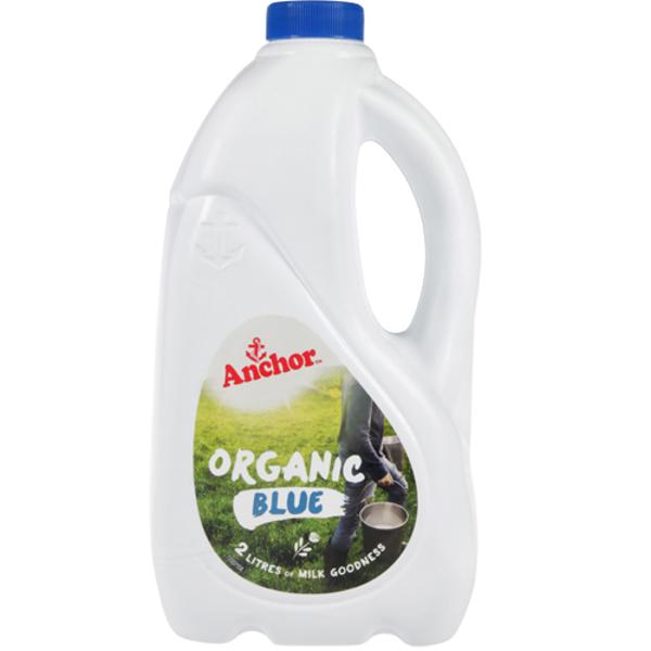 Anchor Organic Blue Milk 2l