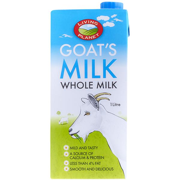 Living Planet Whole Goats Milk 1l