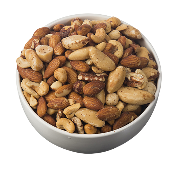 Bulk Foods Roasted Unsalted Supreme Mixed Nuts 1kg