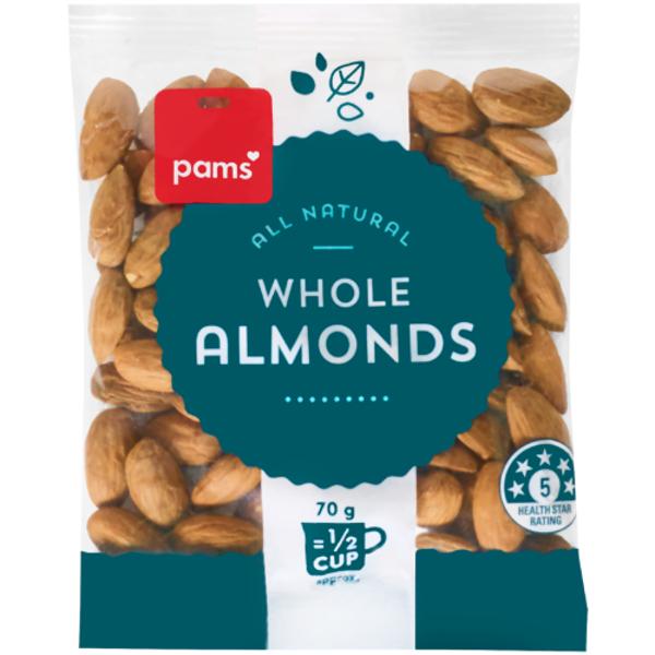Pams Dessert Almonds 70g
