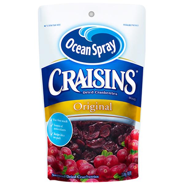 Ocean Spray Craisins Dried Cranberries Original 170g