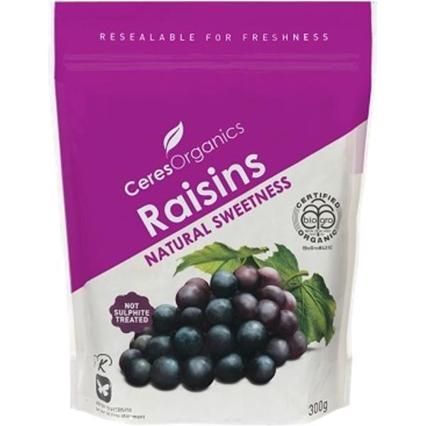 Ceres Organics Raisins 300g