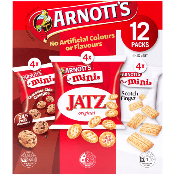 Arnott's Biscuits Mini Variety 292g