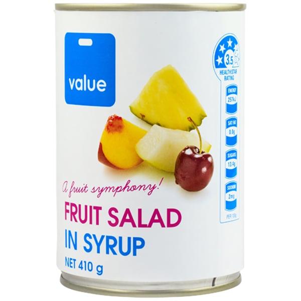 Value Fruit Salad 410g