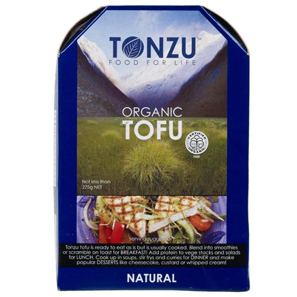 Tonzu Organic Natural Tofu 300g