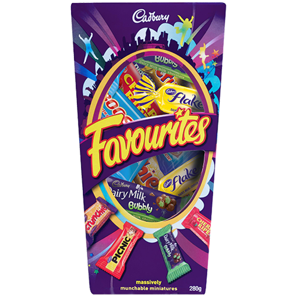 Cadbury Favourites Chocolates 265g