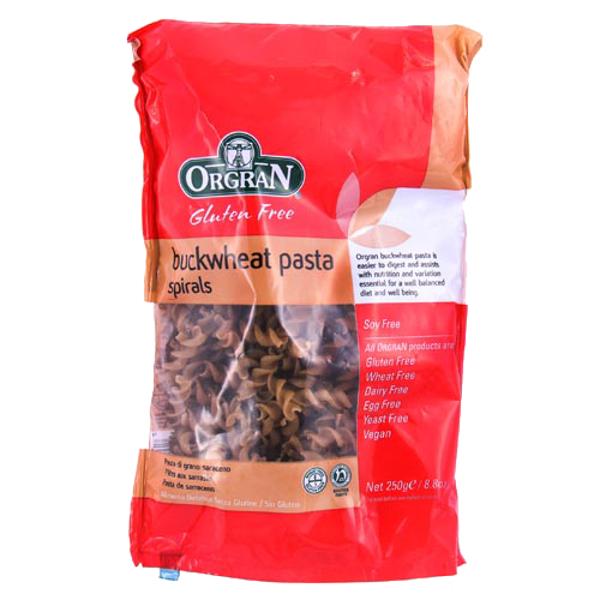 Orgran Gluten Free Buckwheat Pasta Spirals 250g