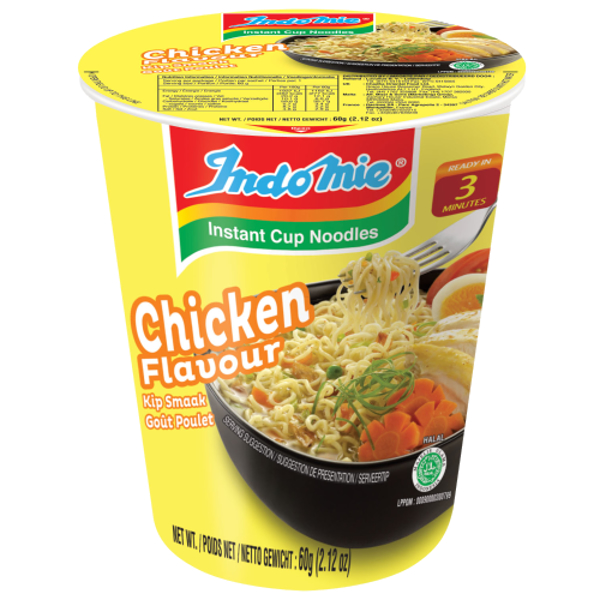 Indomie Chicken Instant Cup Noodles 58g
