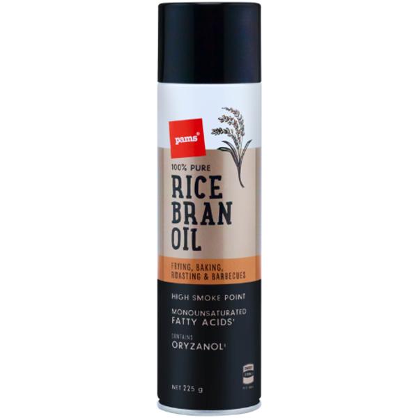 Pams Rice Bran Oil 225g