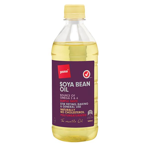 Pams Soya Bean Oil 500ml