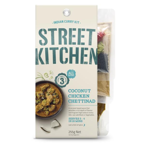 Street Kitchen Coconut Chicken Chettinad Indian Curry Kit 255g
