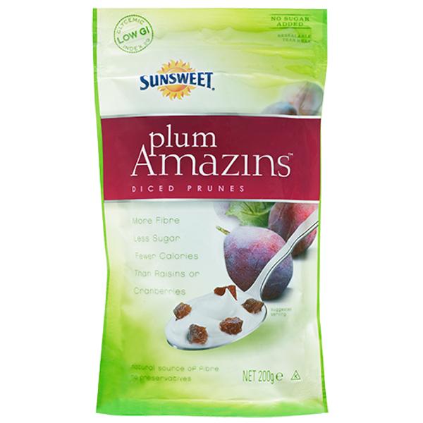 Sunsweet Plums Amazins Diced Prunes 200g