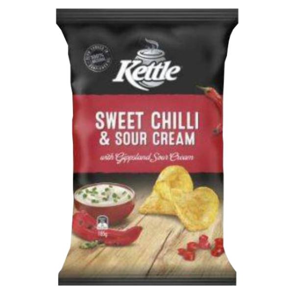 Kettle Chip Company Sweet Chilli & Sour Cream Potato Chips 150g