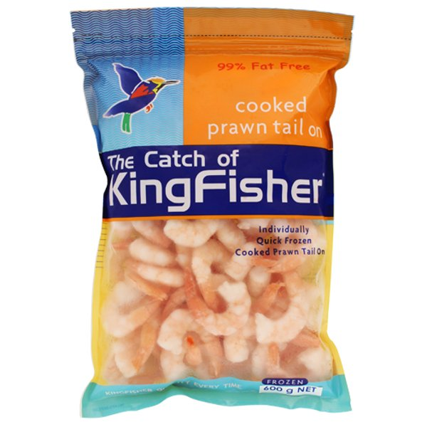 Kingfisher Cooked Prawn Cutlets 600g