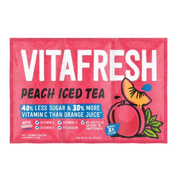 Vitafresh Sachet Drink Mix Peach Ice Tea 150g (50g x 3pk)