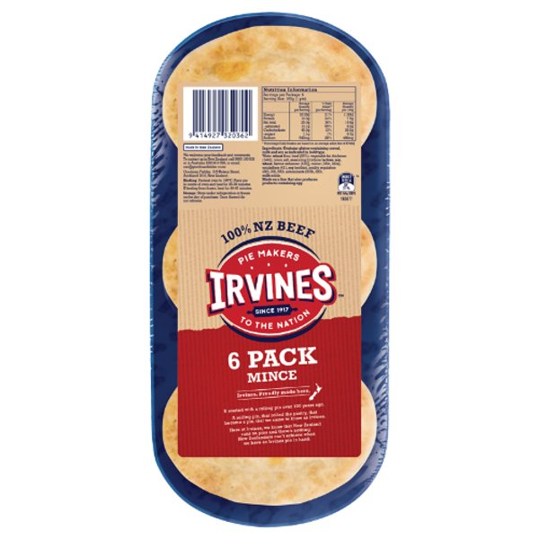 Irvines Original Mince Pies 6ea