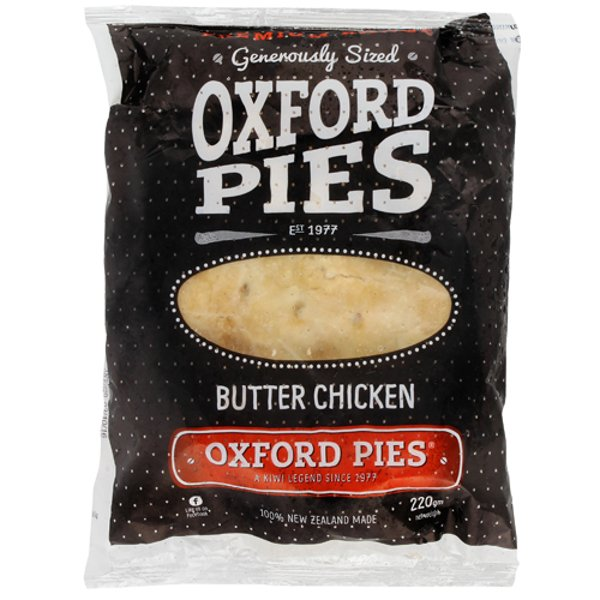 Oxford Pies Premium Butter Chicken Pie 1ea