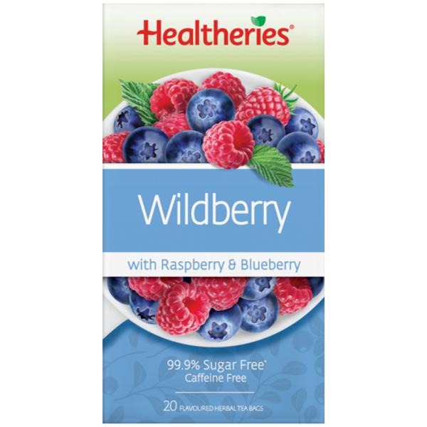 Healtheries Tea Wildberry 20ea