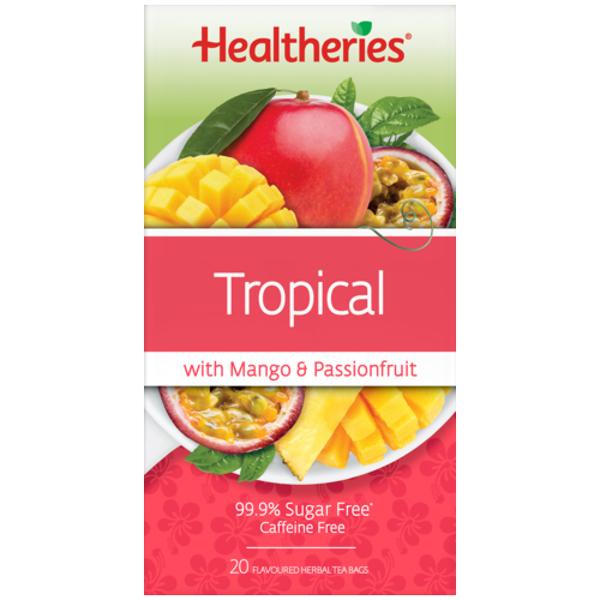 Healtheries Tropical Herbal Tea Bags 20ea
