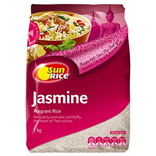 SunRice Jasmine Fragrant Rice 1kg