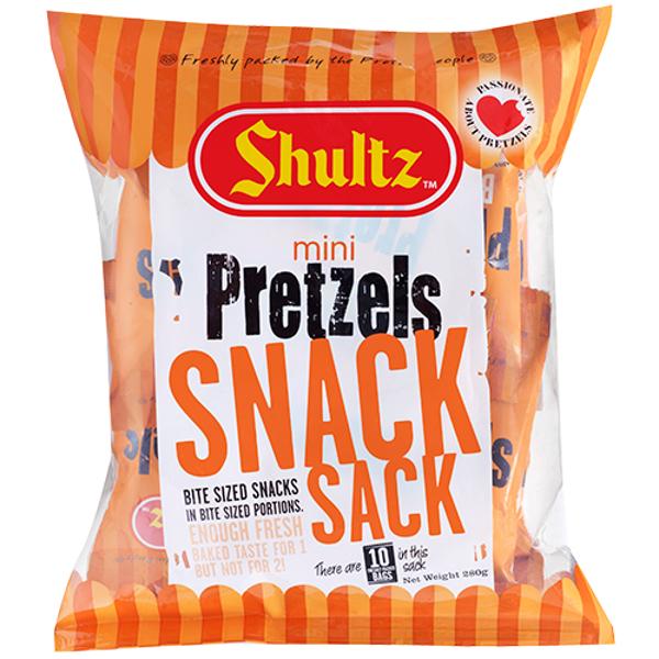 Shultz Mini Pretzels Snack Sack 10pk