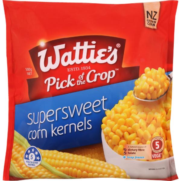 Wattie's Pick Of The Crop Supersweet Corn Kernals 500g