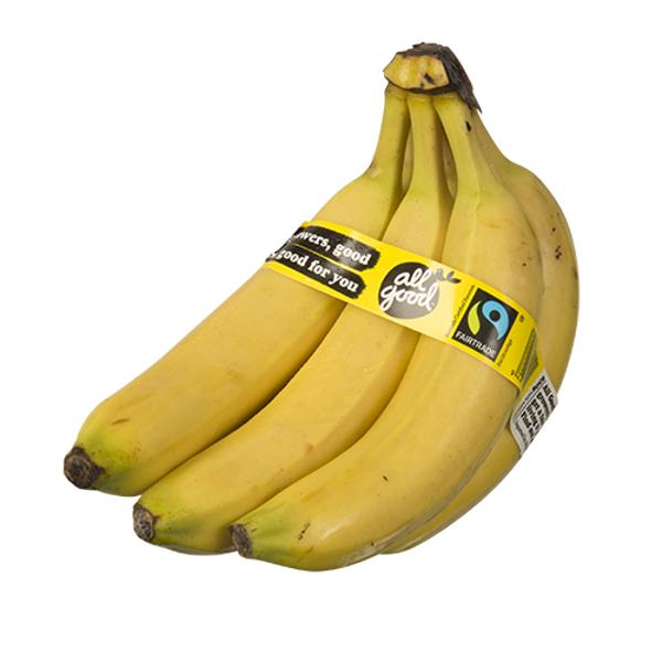 Fairtrade Bananas 850g