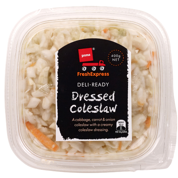 Pams Fresh Express Dressed Coleslaw 400g