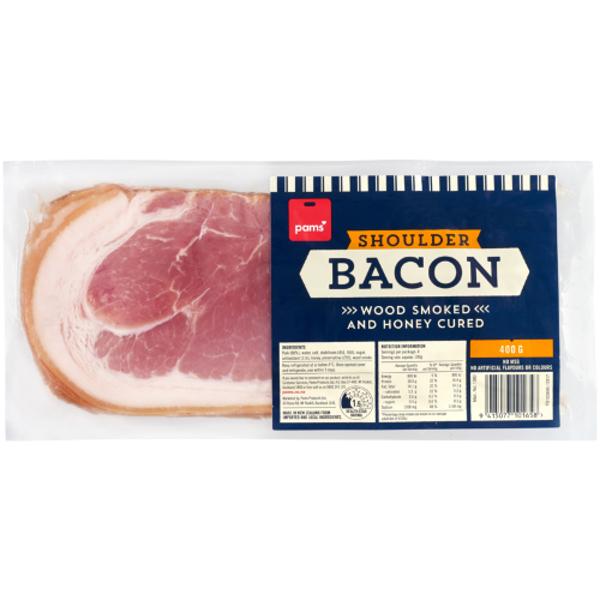 Pams Shoulder Bacon 400g