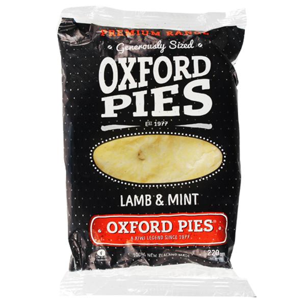 Oxford Pies Premium Lamb & Mint Pie 1ea