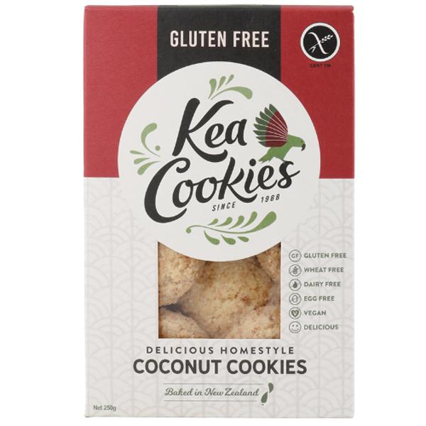 Kea Cookies Gluten Free Delicious Homestyle Coconut 250g