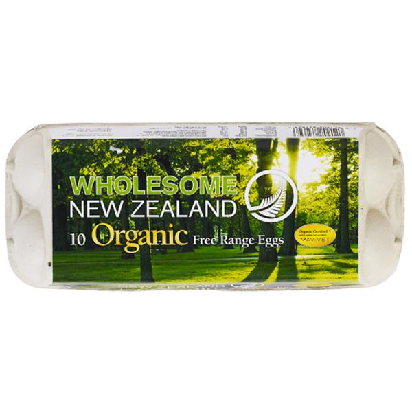 Wholesome NZ Organic Mixed Grade 10PK